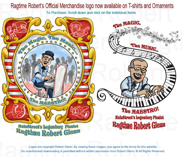 Ragtime Robert's Merchandise Logo